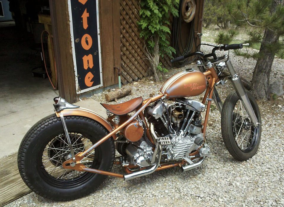 Harley-Davidson Kick Start Bobber Motorcycle