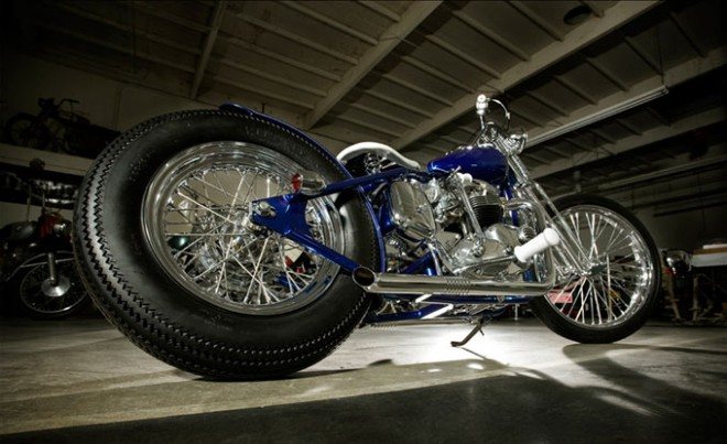 1973 Triumph 750 Bobber Motorcycle