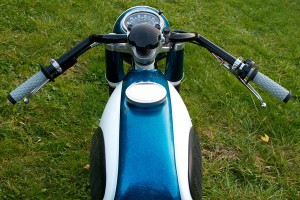 Yamaha Super Rat YZ400 Handlebar View