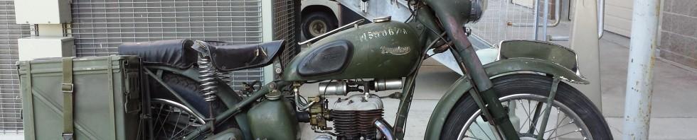 1965 Triumph TRW 500cc Flathead Military Only Motorcycle