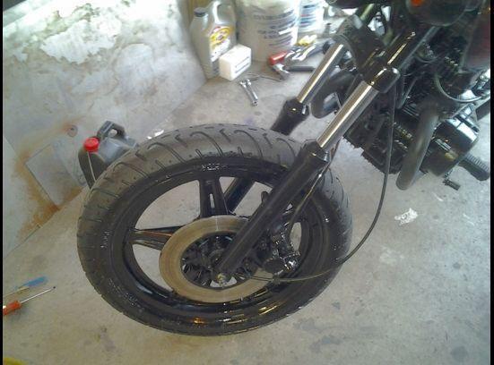 1980 Honda CM400T Bobber Motorcycle