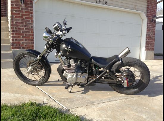 1985 Honda Rebel Bobber Motorcycle