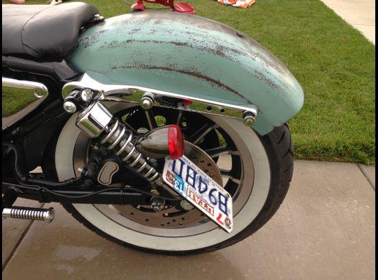 2002 Harley Sportster XL 1200 Custom Bobber