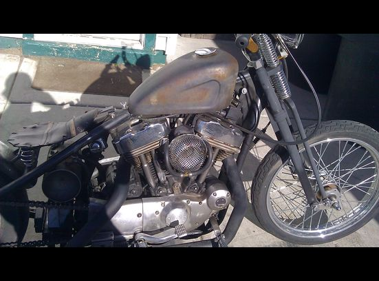 Harley Davidson 1200 cc Bobber Chopper Motorcycle