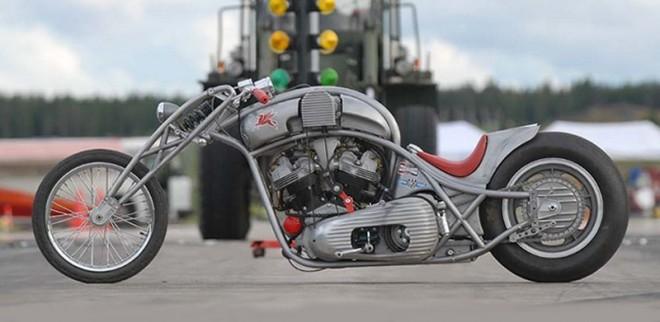 Harley-Davidson Knucklehead Bobber Motorcycle