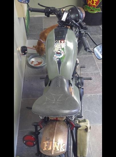 Kawasaki 440 Bobber Motorcycle
