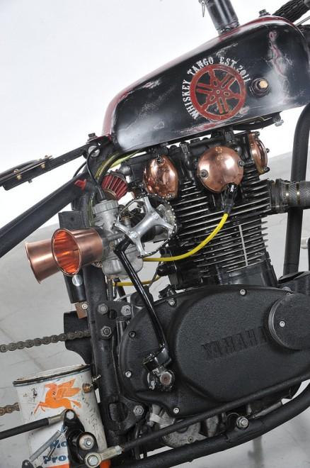 Whiskey Tango Yamaha Bobber Motorcycle