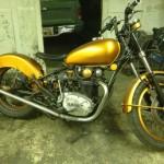 Yamaha 1974 XS 650 Bobber Motorcycle