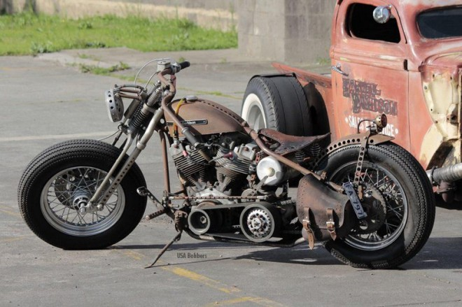 Harley-Davidson Rusty Bobber Motorcycle