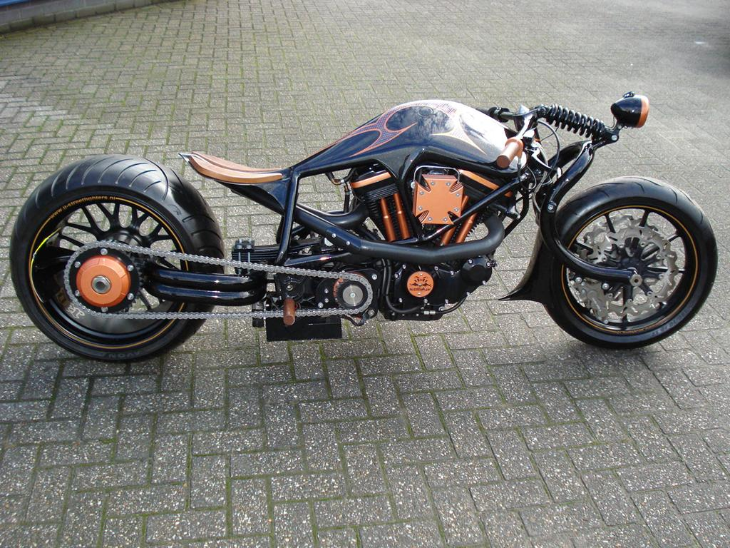 Motorcycle Harley Street Fighter