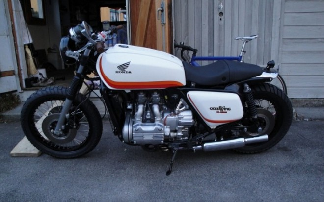 Honda Goldwing Cafe Racer Motorcycle