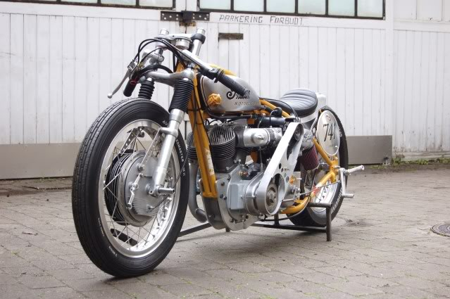 Indian Bobber Motorcycle