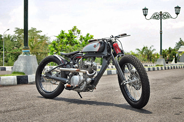 USA Bobber Springer Motorcycle