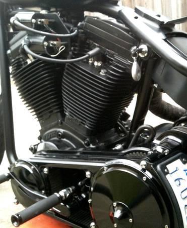 1998 EVO S&S Bobber Motorcycle Engine