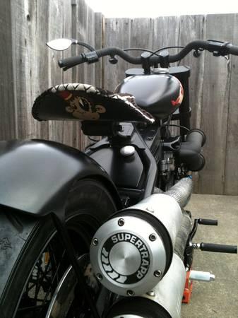 1998 EVO S&S Bobber Motorcycle Seat