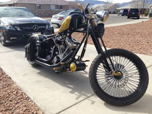 S&S 1996 Bobber Motorcycle From Brotherhood Motorcycle Shop